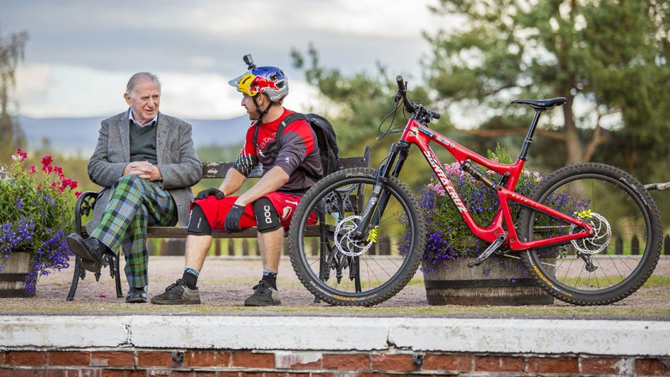 Danny MacAskill and his dad