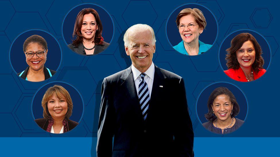 Biden Vp Pick Who Could Be Joe Biden S Running Mate Bbc News