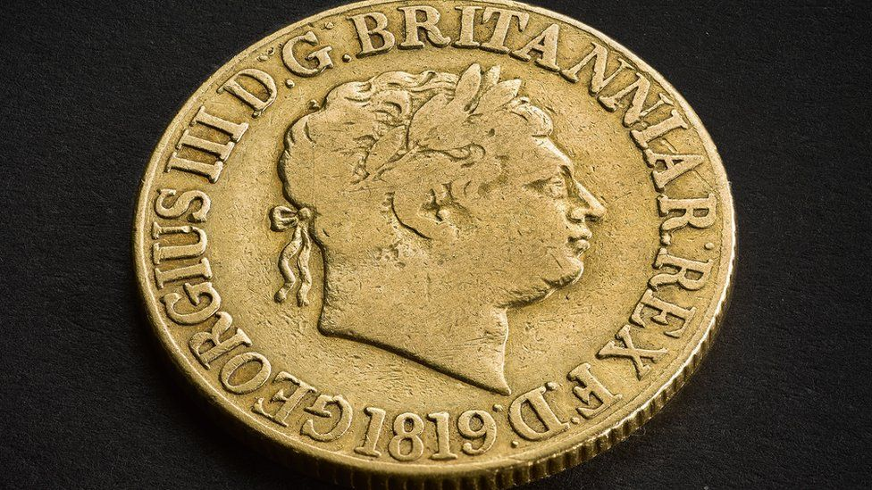 Royal Mint selling rare gold sovereign for £100,000