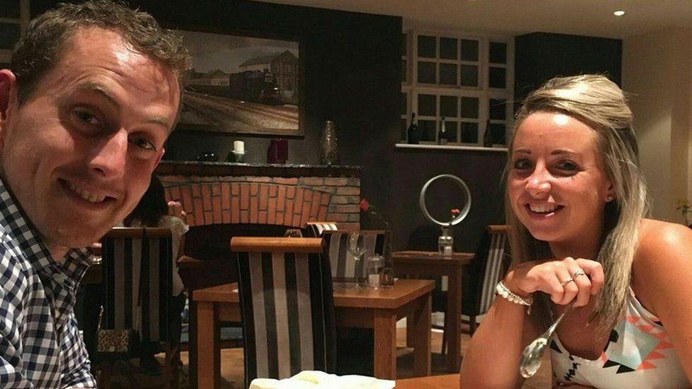 Gavin Roberts and girlfriend Meg Williamson