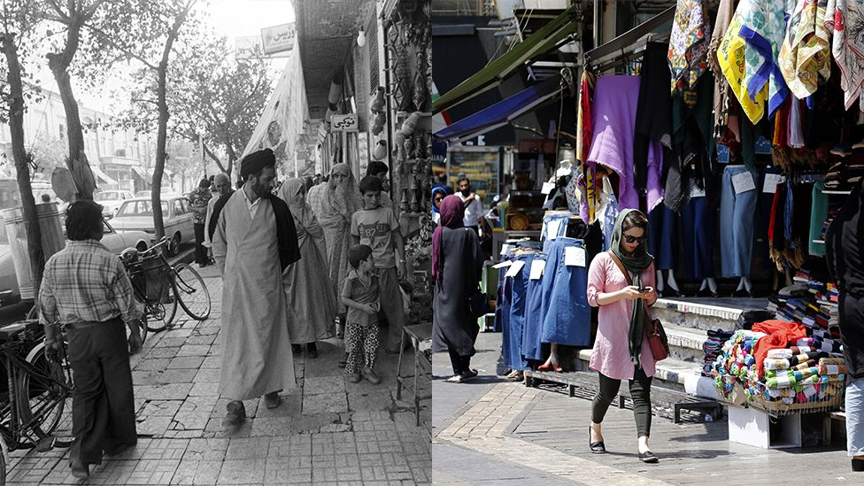 Streets of Tehran 1978-2018