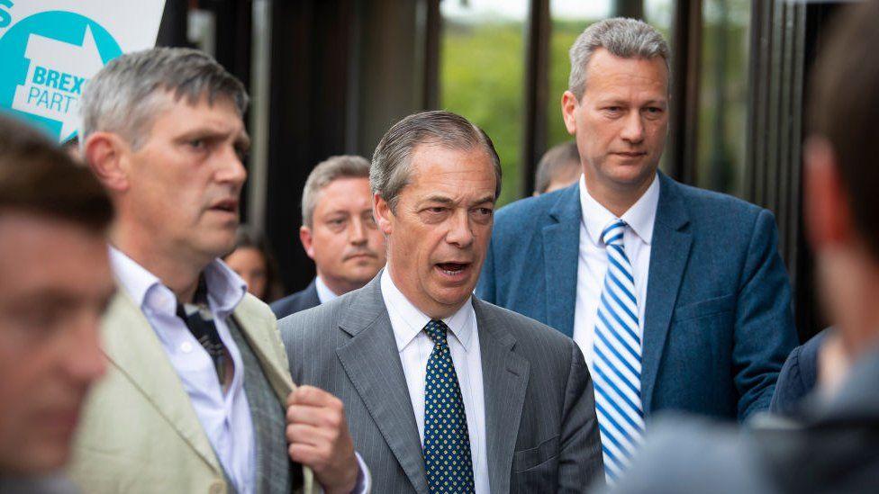 Nigel Farage and Nathan Gill