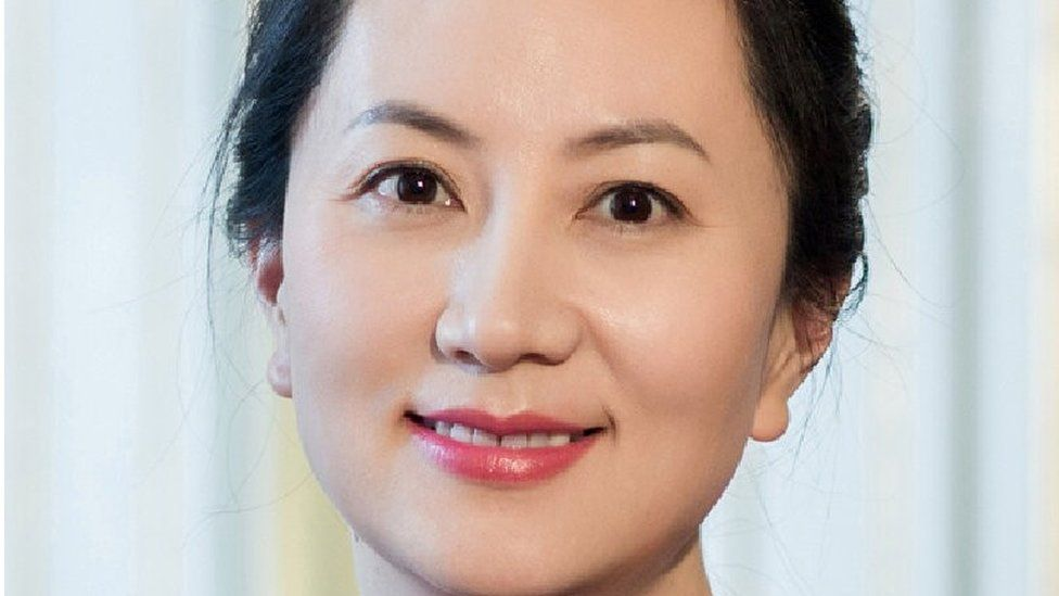 """Meng Wanzhou, Huawei Technologies Co Ltd""""s chief financial officer (CFO), is seen in this undated handout photo obtained by Reuters December 6, 2018."""