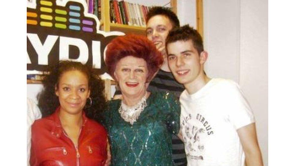 Danny Cheetham working for Gaydio radio station in Manchester