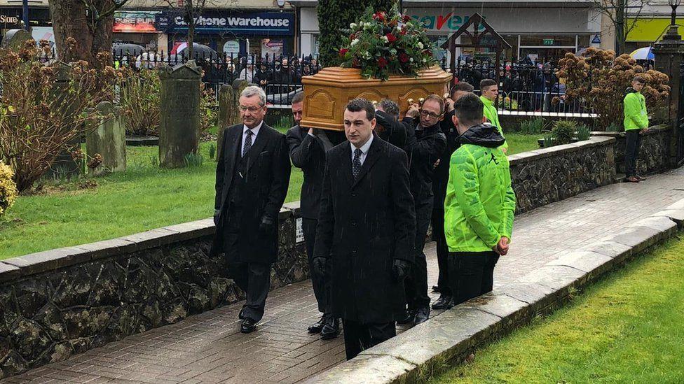 Harry Gregg funeral