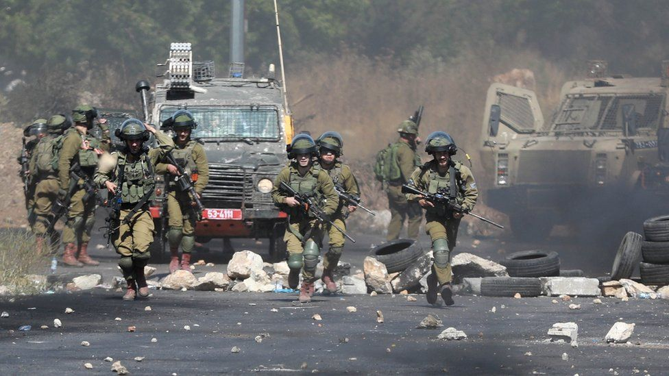 Israeli forces clash with Palestinian demonstrators
