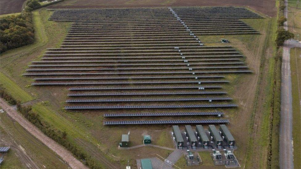 Clayhill solar farm