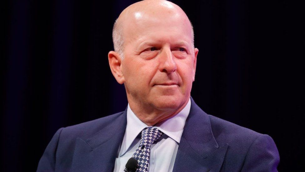 Goldman Sachs' chief executive David Solomon.