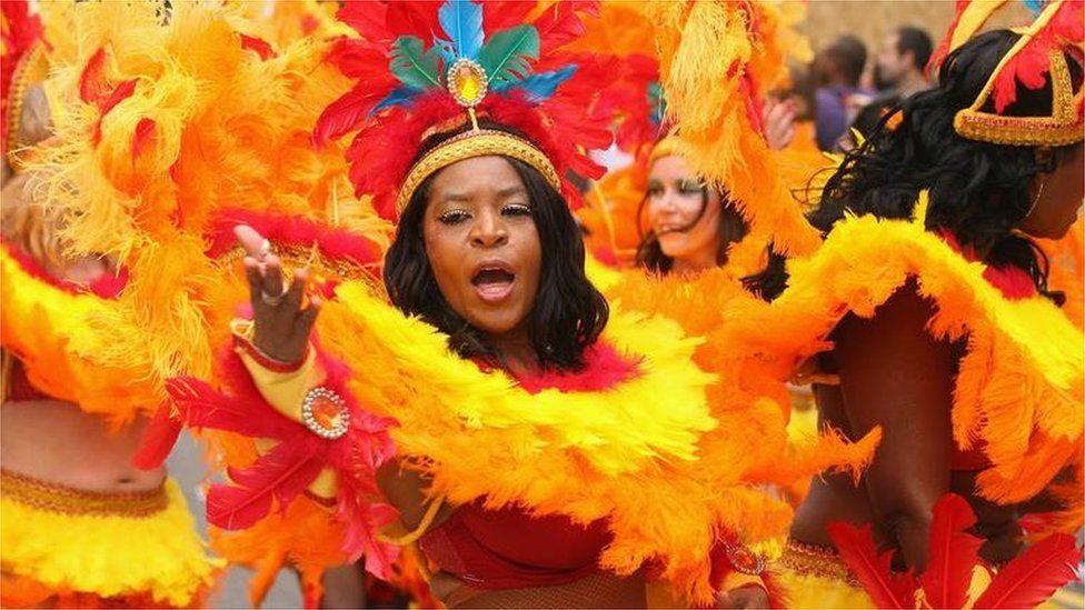 Carnival performers in 2011