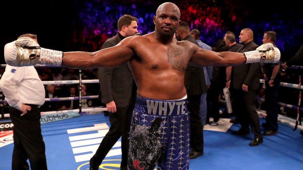 45217b73 Boxing: Why hasn't Dillian Whyte fought for a world title yet? - BBC News