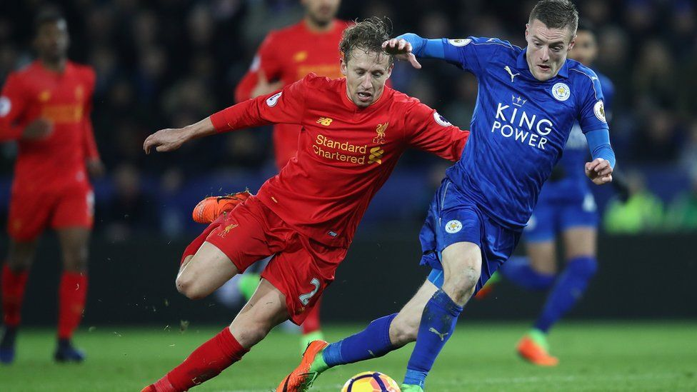 Liverpool vs Leicester in the Premier League
