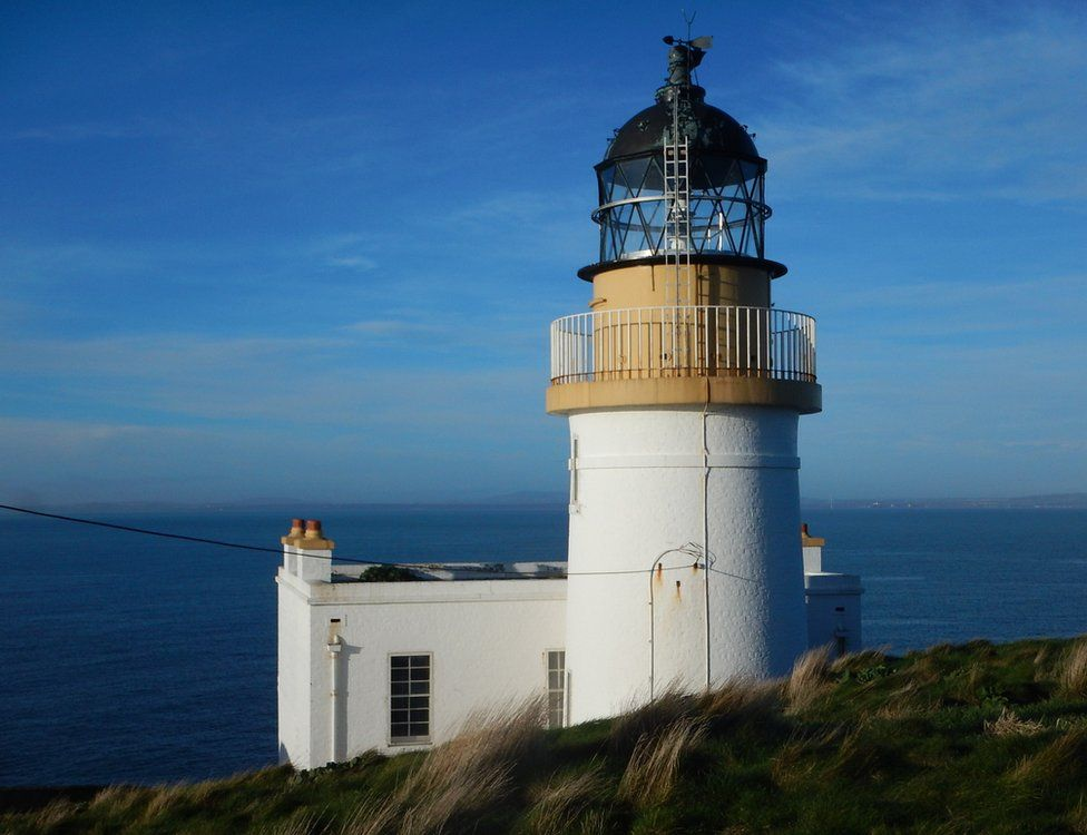 Fidra Lighthouse in the Firth of Forth.
