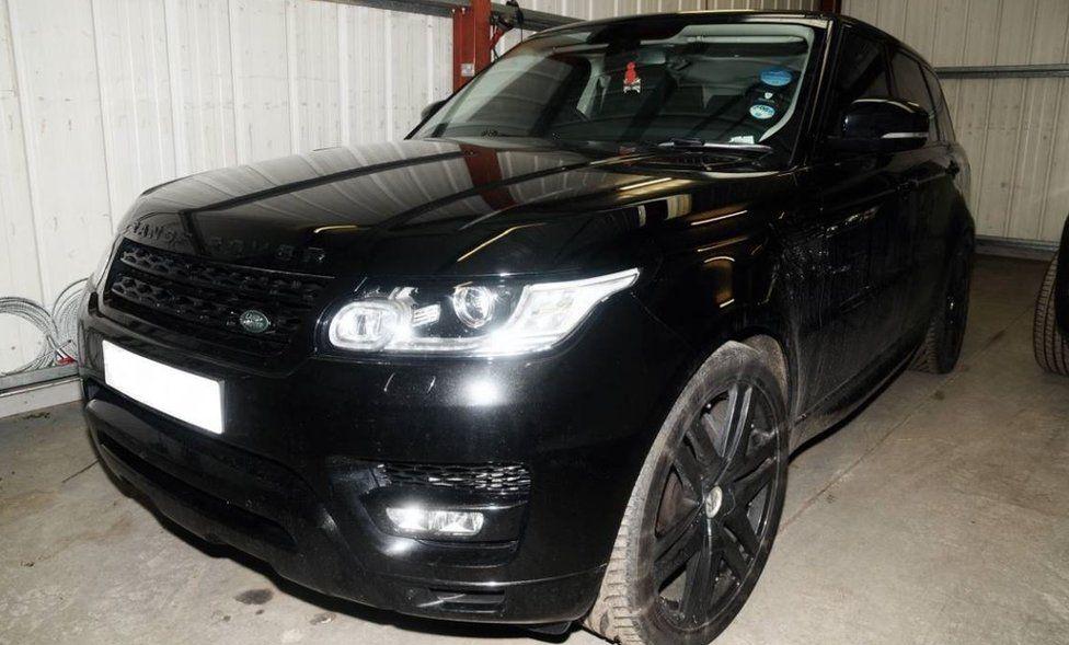 Adam Johnson's Range Rover