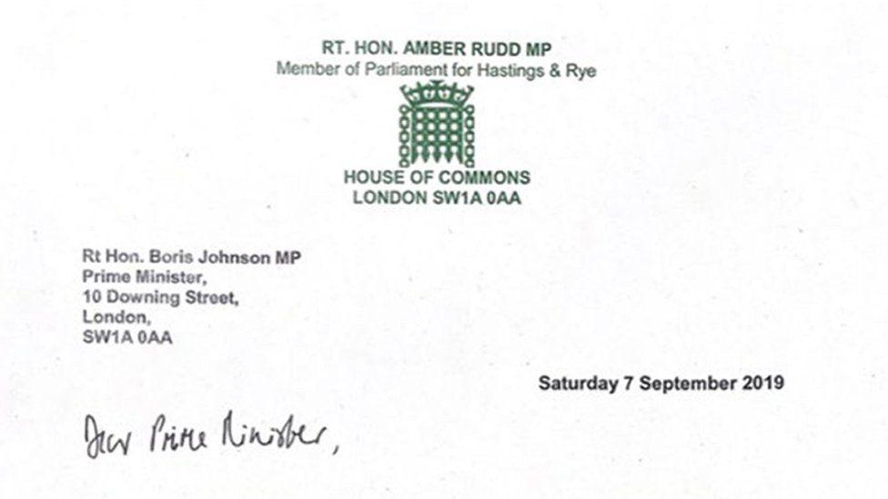 Amber Rudd: Resignation letter in full