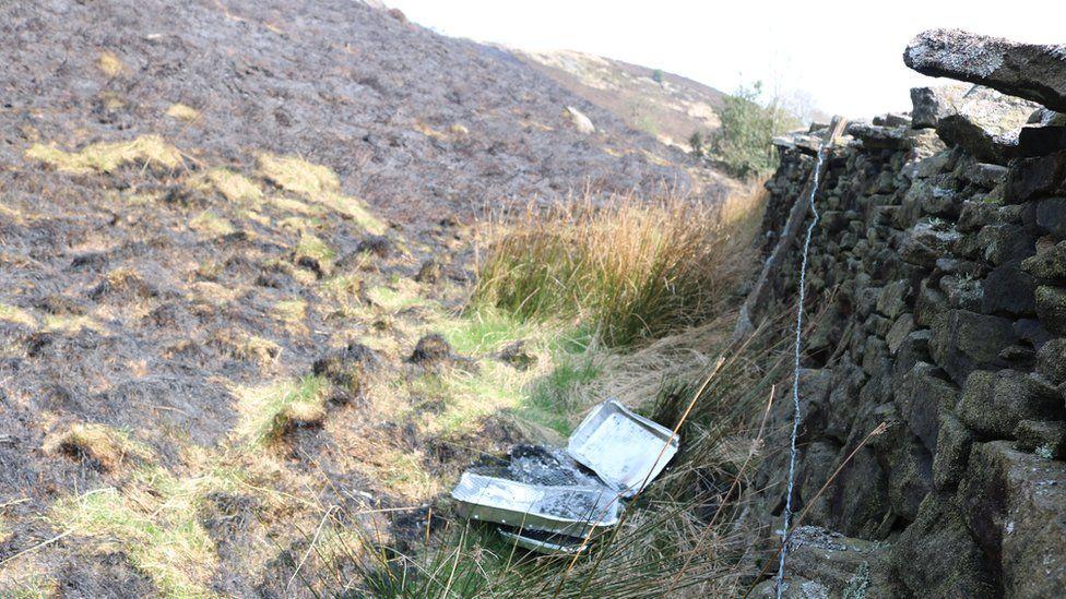 Rubbish left behind