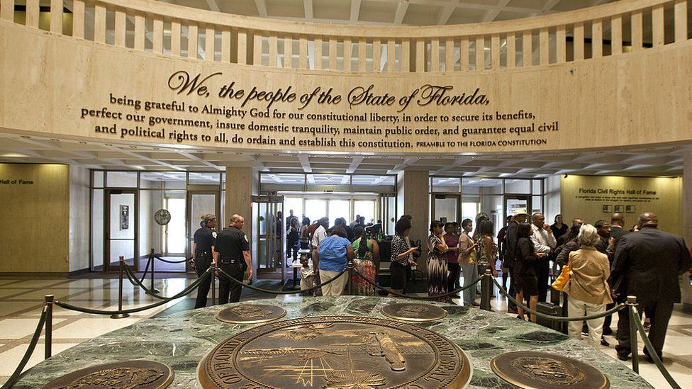 florida state capitol inside