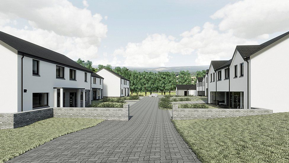 Green homes study in the Borders compares construction costs
