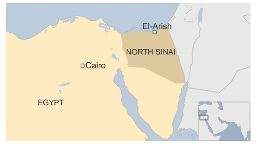 Map of Sinai