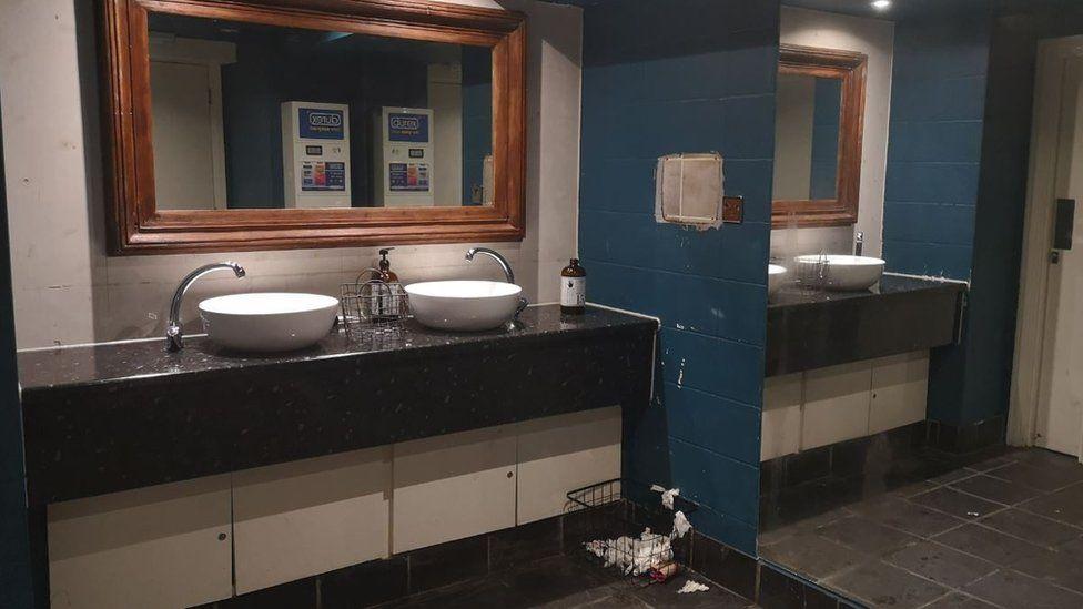 A public washroom