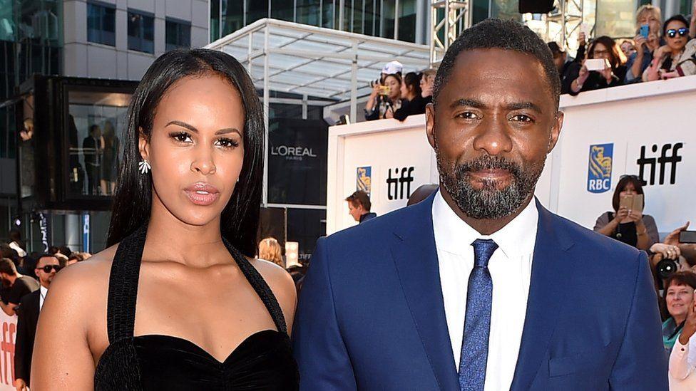 Sabrina Dhowrie and Idris Elba