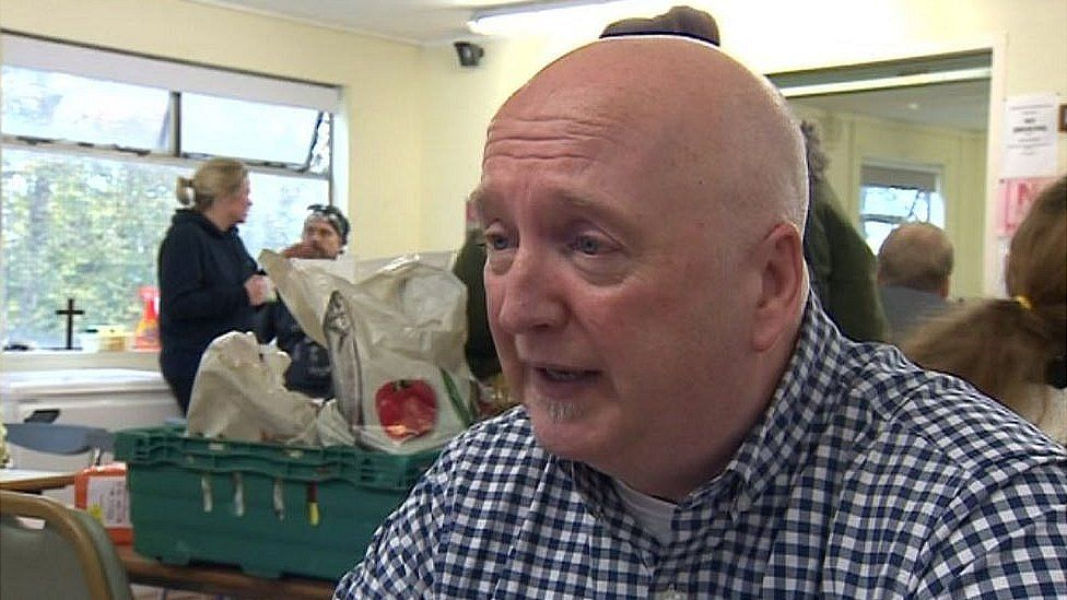 John McCorry, CEO of West End Food Bank
