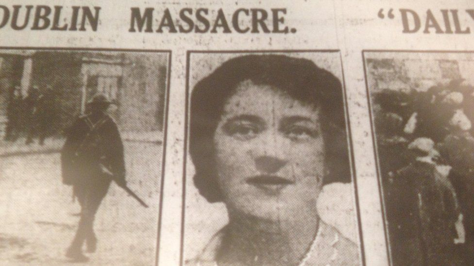 A photo of Jane Boyle appeared in newspaper coverage of Bloody Sunday
