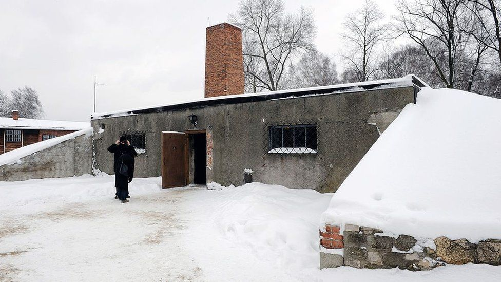 The gas chamber at Auschwitz I