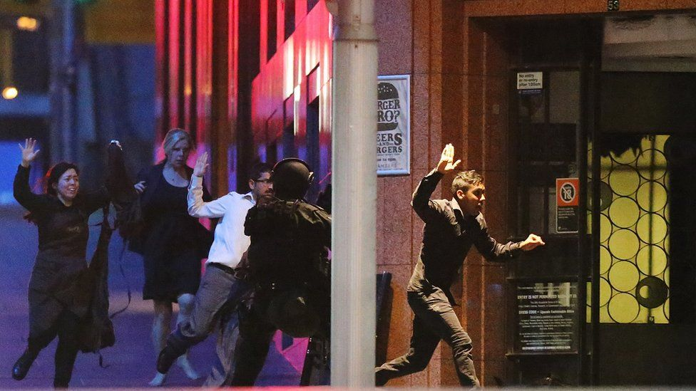 Hostages escape from the Sydney siege