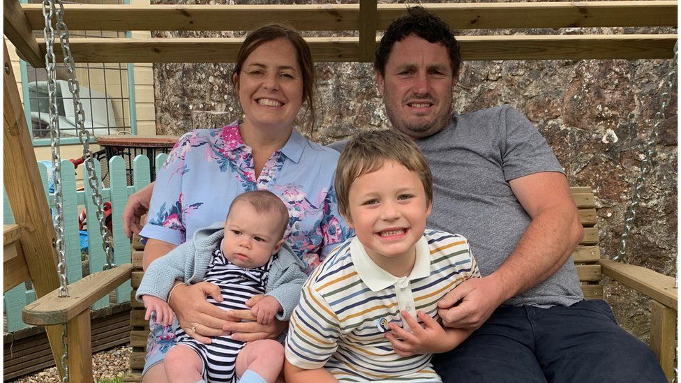 Rebecca Howe and family