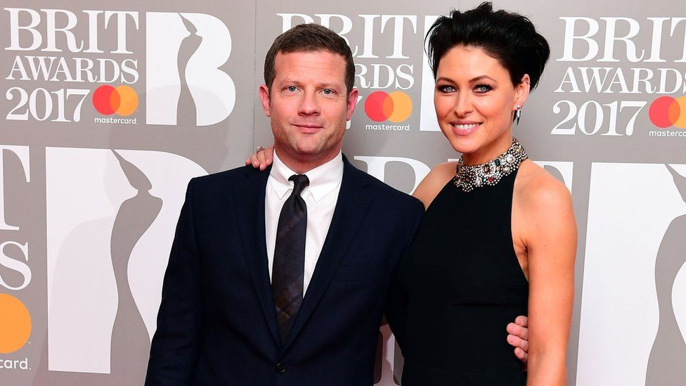 Dermot O'Leary and Emma Willis