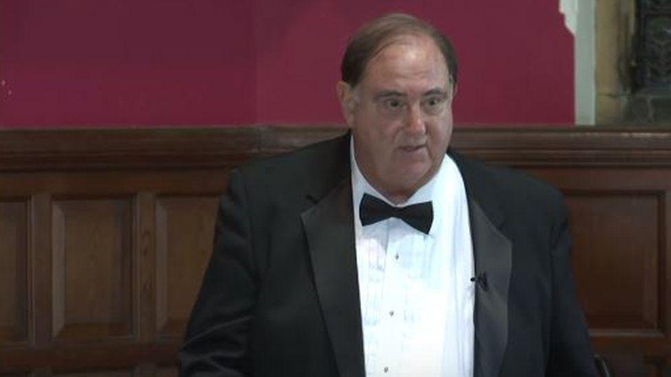 Stefan A Halper, a 73-year-old professor emeritus at the University of Cambridge.