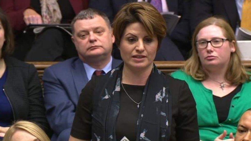 Emma Hardy in parliament