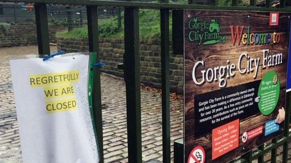 Gorgie City Farm: One of Scotland's last urban farms collapses