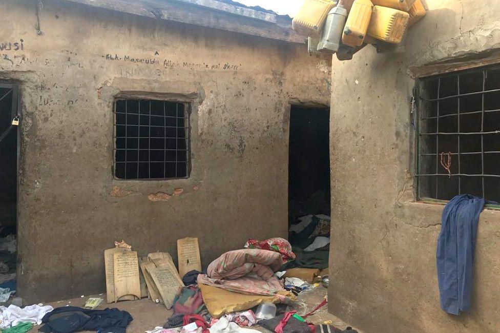 Scene in school compound
