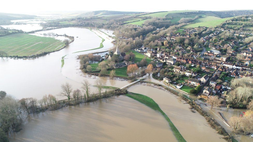 Alfriston flooding