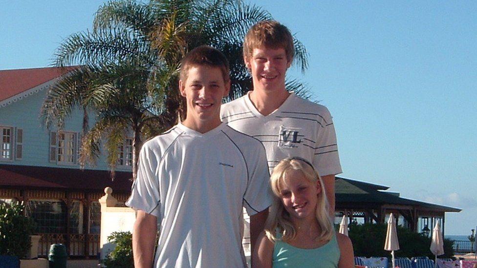 Luke, Ryan and Charlotte Hart