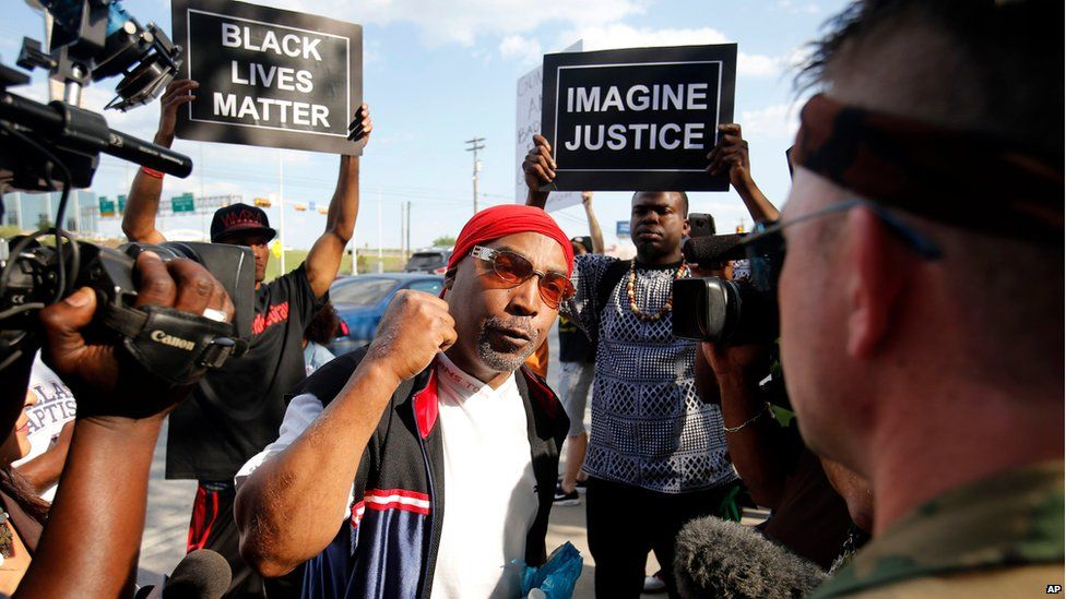 Race relations in the US remains major issue for the president
