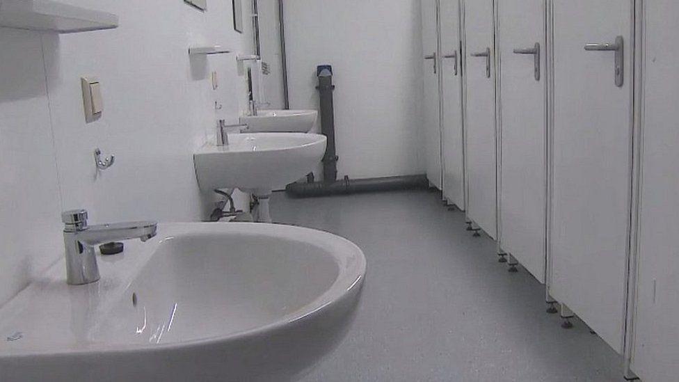 Washroom in H Kohl building