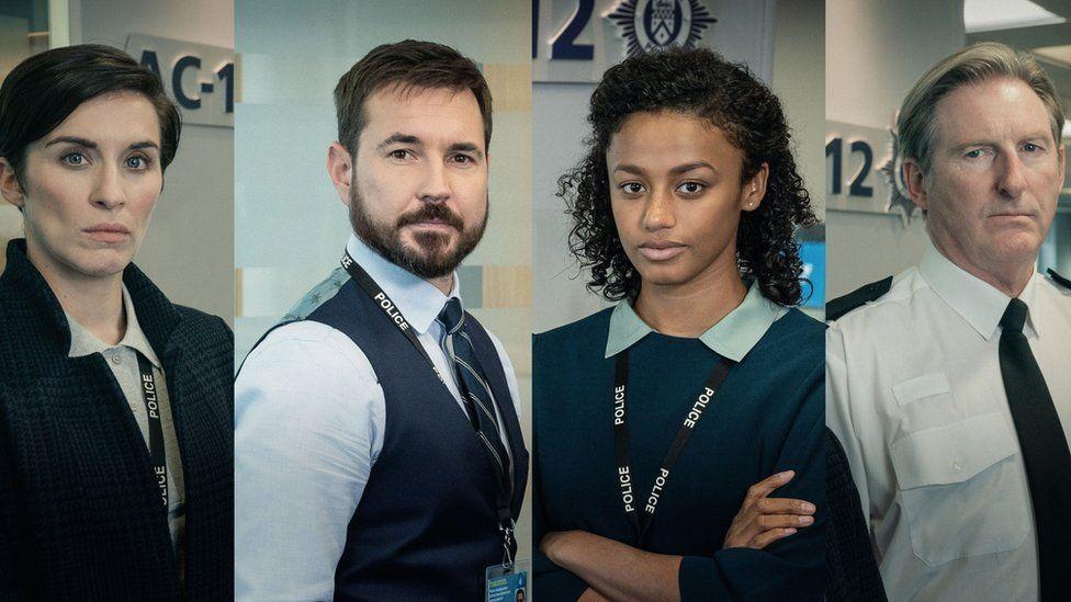 DI Kate Fleming (Vicky McClure), DS Steve Arnott (Martin Compston), DC Chloe Bishop (Shalom Brune-Franklin), Superintendent Ted Hastings (Adrian Dunbar)