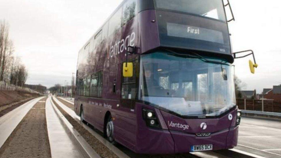 Leigh Guided Bus Lane
