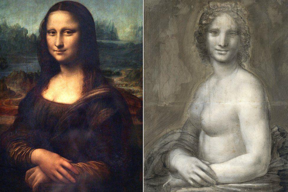 Left to right: Mona Lisa (AFP), Monna Vanna (Alamy)
