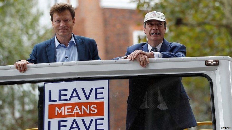 Richard Tice and Nigel Farage