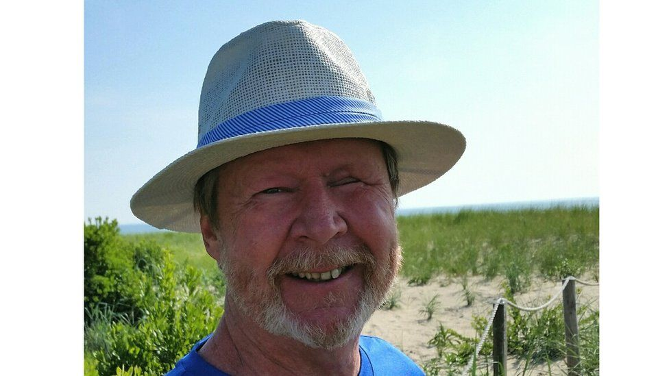 Ed Quigley advocates for beach umbrella-safety after one pierced his eye and his brain