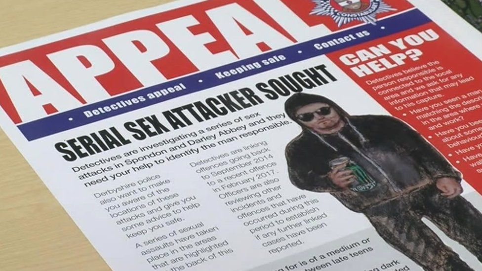 Derbyshire Police serial sex attacker appeal