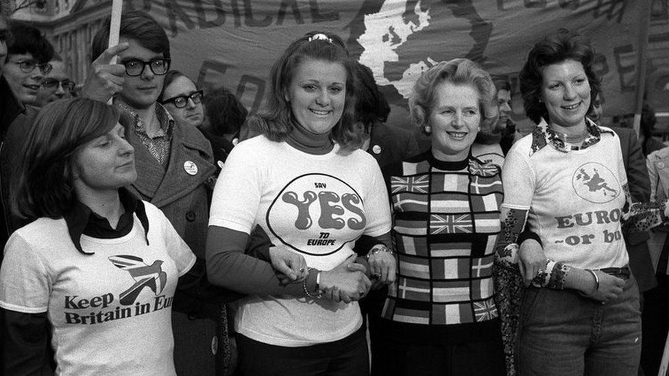 Lady Thatcher in 1975