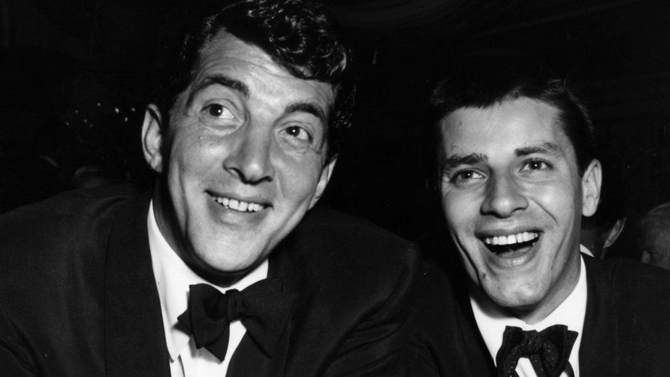 Dean Martin and Jerry Lewis in 1953