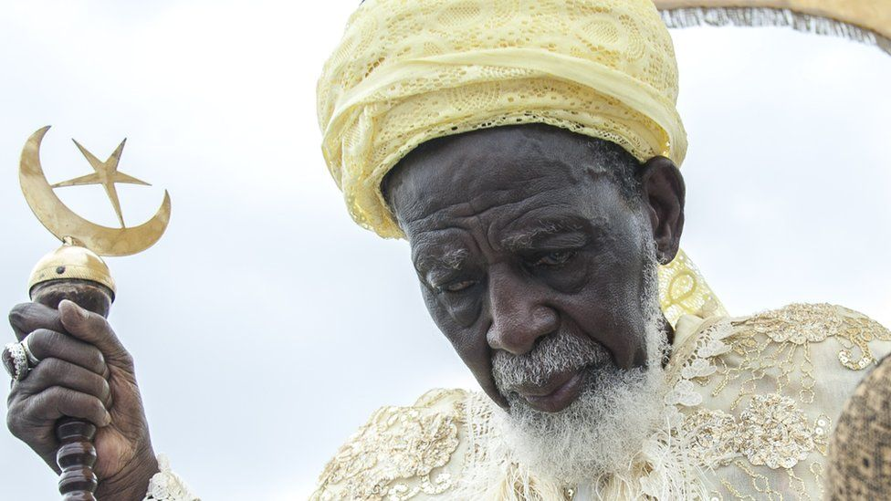 Ghana's 100-year-old imam who went to church