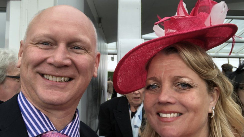 Hotel owners Richard and Elaine Perry