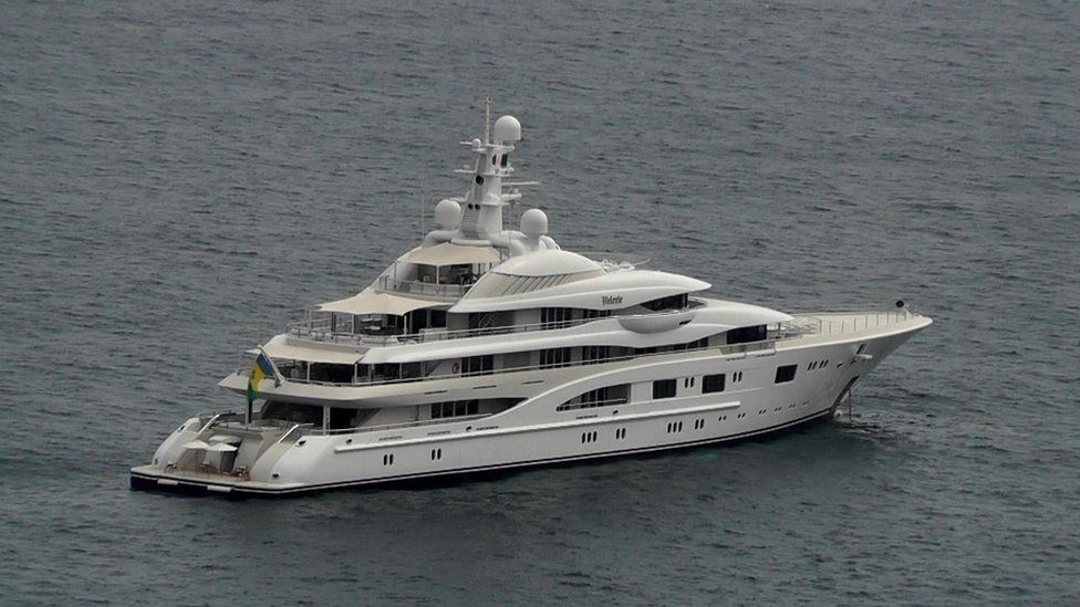 Valerie, the yacht Lopez and Affleck were spotted aboard