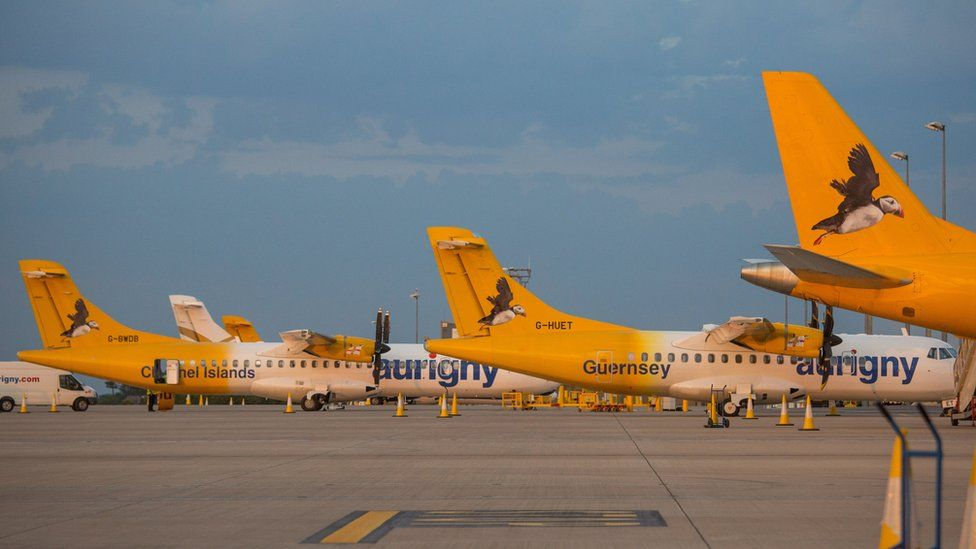 Aurigny planes